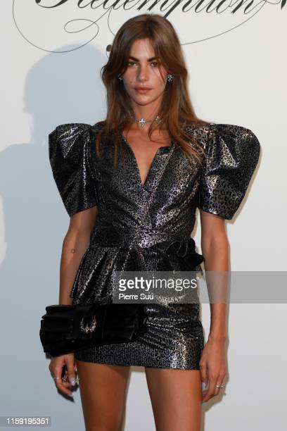 Clara Berry attends the Redemption Haute Couture Fall/Winter 2019 2020 show as part of Paris Fashion Week on June 30 2019 in Paris France