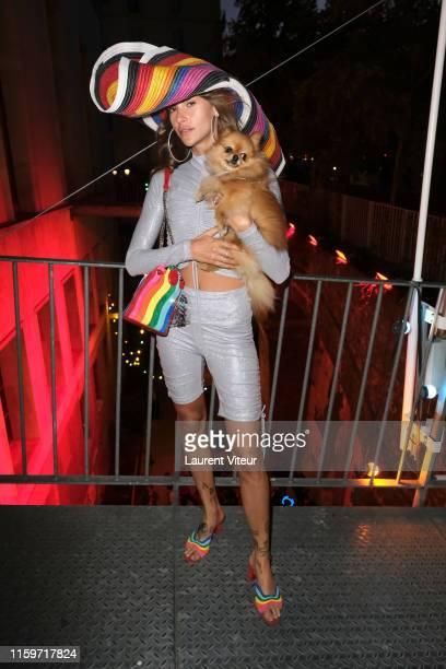 Clara Berry attends Tod's X Alber Elbaz Happy Moments at Yoyo Palais De Tokyo on July 02 2019 in Paris France