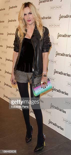 Clara Courel attends Stradivarius party photocall at Stradivarius store on November 15 2012 in Madrid Spain