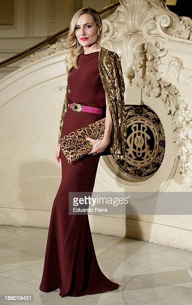 Clara Courel attends the Ralph Lauren Dinner Charity Gala at the Casino de Madrid on November 14, 2013 in Madrid, Spain.