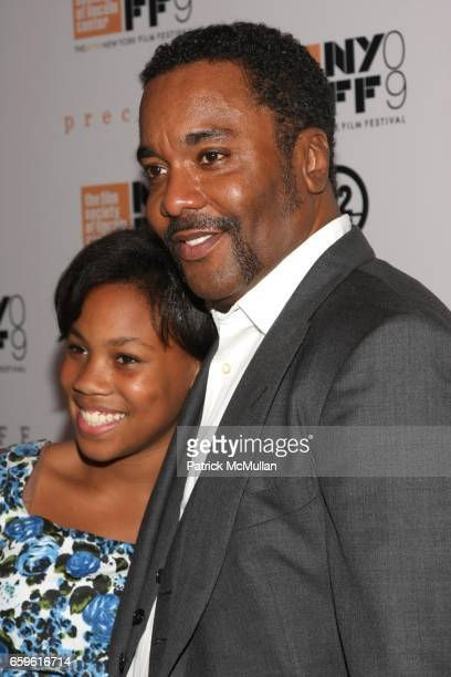 Clara Daniels and Lee Daniels attend New York Film Festival's Screening of PRECIOUS at Alice Tully Hall at Lincoln Center on October 3 2009 in New...