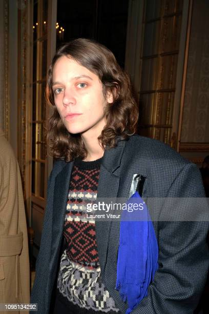 Clara Deshayes aka Clara 3000 attends the Raf Simons Menswear Fall/Winter 20192020 show as part of Paris Fashion Week on January 16 2019 in Paris...