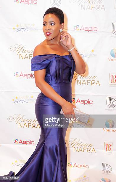 Clara Fernaldo attends the 5th Annual African Critics Awards at the Orpheum Theatre on September 12 2015 in Los Angeles California