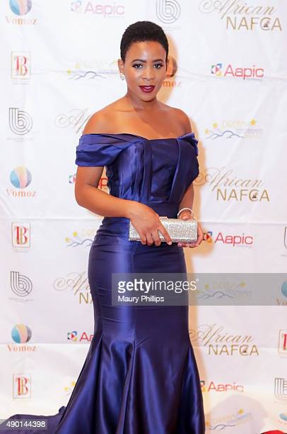 Clara Fernaldo attends the 5th Annual Nollywood African Flim Critics Awards at the Orpheum Theatre on September 12 2015 in Los Angeles California