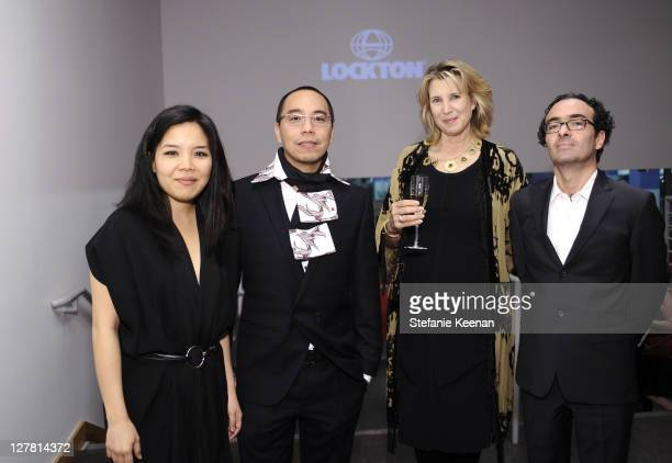 Clara Kim Apichatpong Weerasethakul Bianca Roberts and Jose Kuri attend 2011 REDCAT Gala Honoring Eli Edythe Broad and Apichatpong Weerasethakul at...