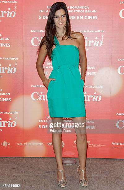Clara Lago attends 'Ciudad Delirio' premiere photocall at Academia del cine on September 2 2014 in Madrid Spain