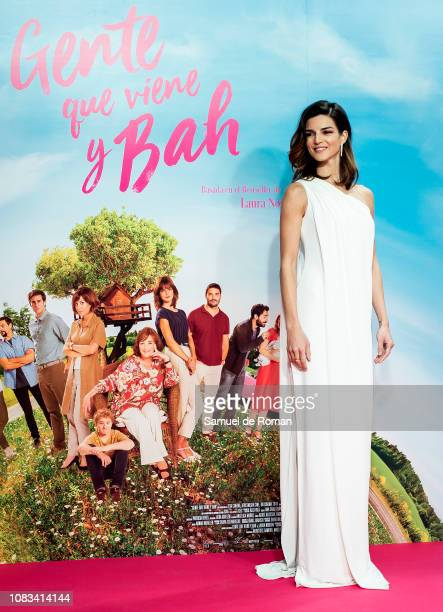 Clara Lago attends Gente Que Viene Y Bah' Madrid Premiere on January 16 2019 in Madrid Spain
