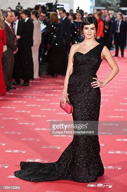 Clara Lago attends Goya Cinema Awards 2012 at Palacio Municipal de Congresos on February 19 2012 in Madrid Spain