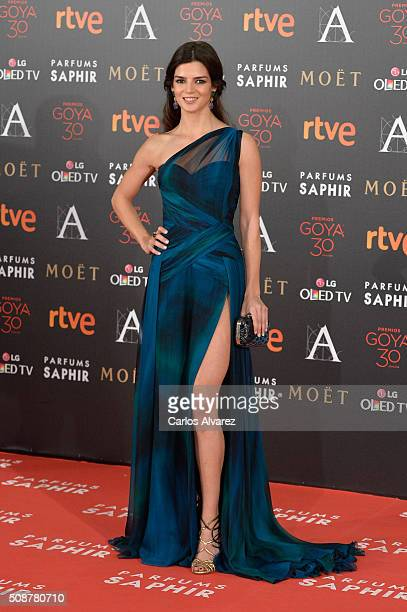 Clara Lago attends Goya Cinema Awards 2016 at Madrid Marriott Auditorium on February 6 2016 in Madrid Spain
