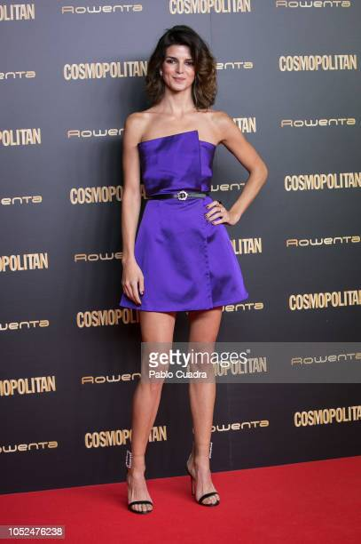 Clara Lago attends the Cosmopolitan Awards 2018 at Florida Park on October 18 2018 in Madrid Spain
