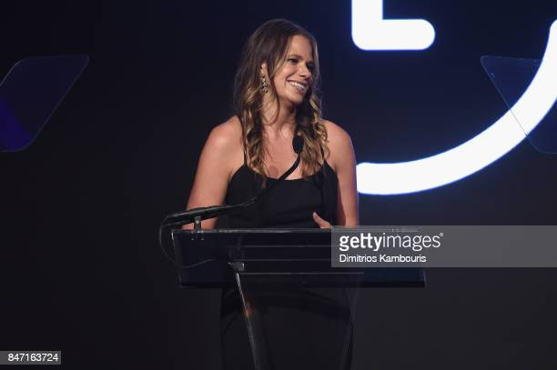 Clara Lionel Executive Director Justine Lucas speaks onstage at Rihanna's 3rd Annual Diamond Ball Benefitting The Clara Lionel Foundation at Cipriani...
