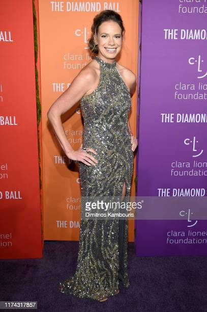 Clara Lionel Foundation Executive Director Justine Lucas attends Rihanna's 5th Annual Diamond Ball Benefitting The Clara Lionel Foundation at...