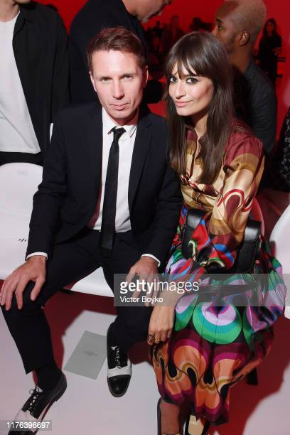 Clara Luciani and a guest attend the Gucci show during Milan Fashion Week Spring/Summer 2020 on September 22, 2019 in Milan, Italy.
