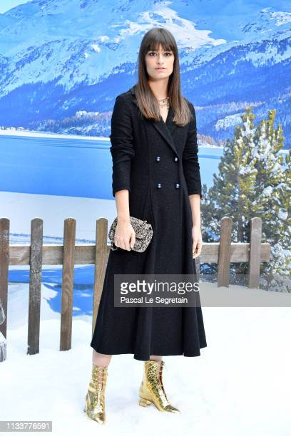 Clara Luciani attends the Chanel show as part of the Paris Fashion Week Womenswear Fall/Winter 2019/2020 on March 05 2019 in Paris France