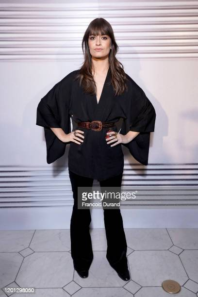 Clara Luciani attends the JeanPaul Gaultier 50th Birthday Cocktail and Party at Theatre du Chatelet on January 22 2020 in Paris France