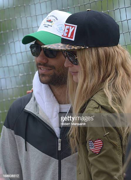 Clara Mas and Diego Osorio attend the Barcelona Polo Classic 2013 at the Real Club de Polo on May 10 2013 in Barcelona Spain