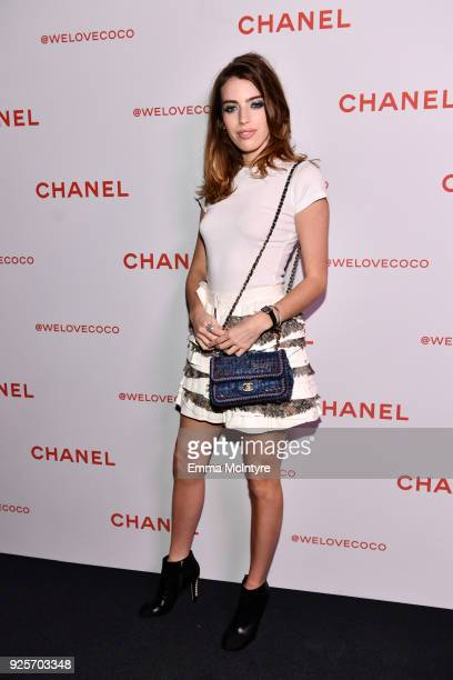 Clara McGregor attends a Chanel Party to celebrate the Chanel Beauty House and @WELOVECOCO at Chanel Beauty House on February 28 2018 in Los Angeles...