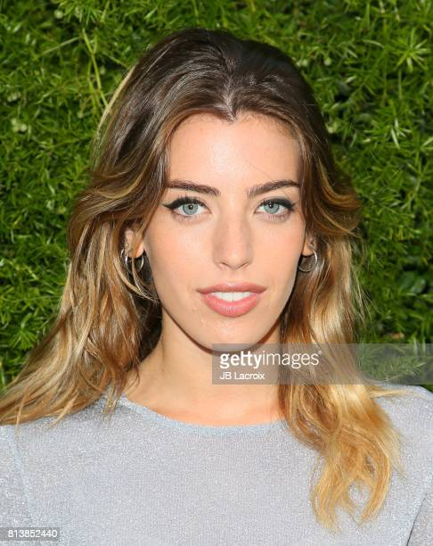 Clara McGregor attends the Chanel dinner celebrating Lucia Pica and the Travel Diary Makeup Collection at Capo on July 12 2017 in Santa Monica...