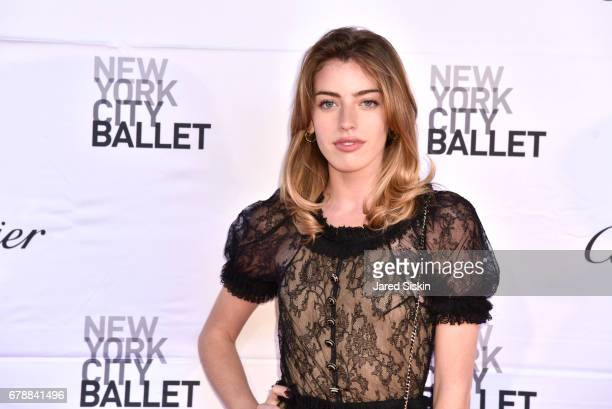 Clara McGregor attends the New York City Ballet 2017 Spring Gala at David H Koch Theater Lincoln Center on May 4 2017 in New York City