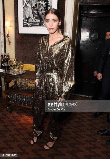 Clara McGregor attends Town Country Magazine's Modern Swans Celebrationon at The Carlyle September 10 2017 in New York City