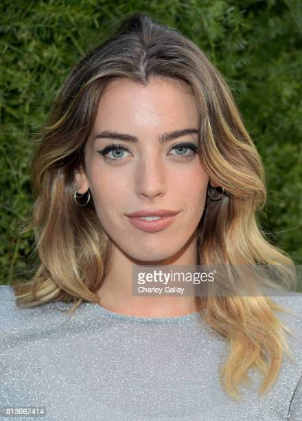 Clara McGregor wearing Chanel at CHANEL Dinner Celebrating Lucia Pica The Travel Diary Makeup Collection on July 12 2017 in Los Angeles California