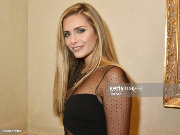 Clara Morgane attends 'Miss Beaute Nationale 2019' Election Ceremony and Citestars 20th anniversary at Le Grand Hotel Election Ceremony at Le Grand...