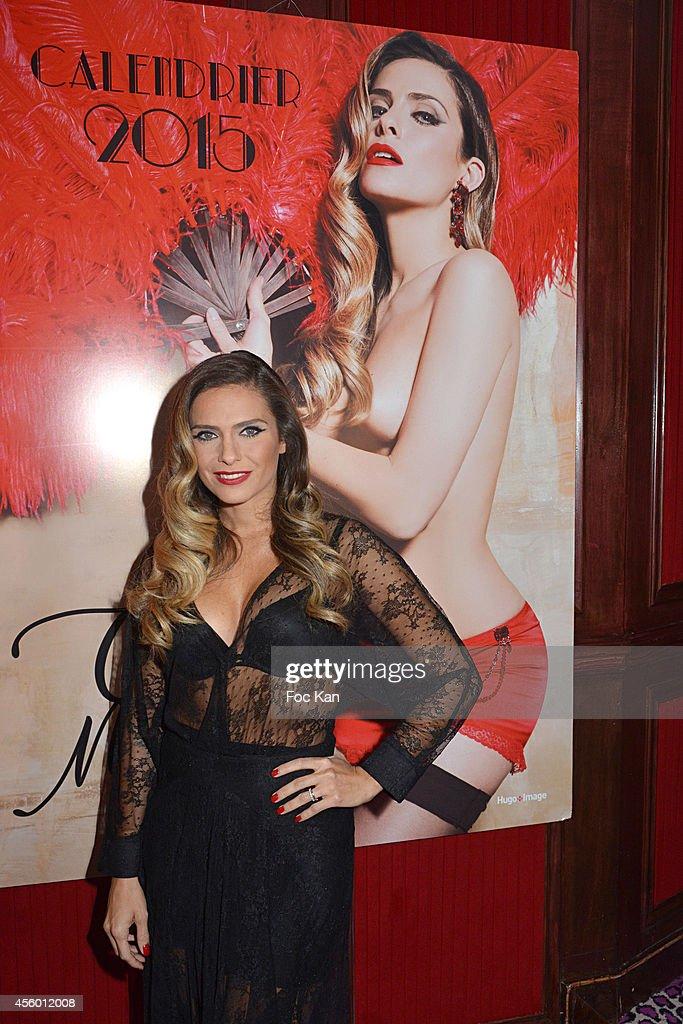 Clara Morgane 2015 Calendar At The New Pink  Paradise Club In Paris
