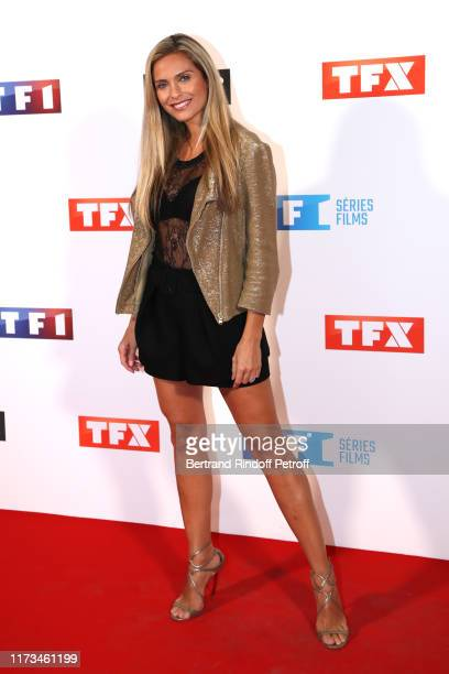 Clara Morgane attends the Groupe TF1 Photocall at Palais de Tokyo on September 09 2019 in Paris France