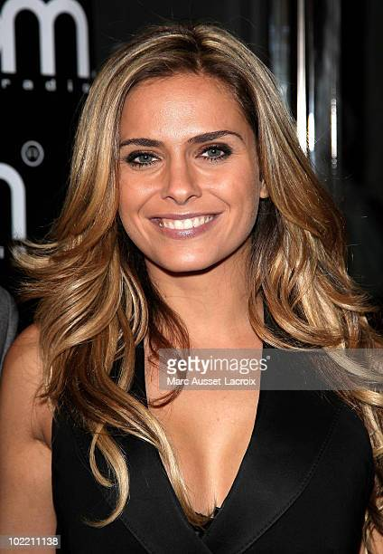 Clara Morgane attends the'Goom Celebration' Party at VIP Room Theatre on June 18 2010 in Paris France