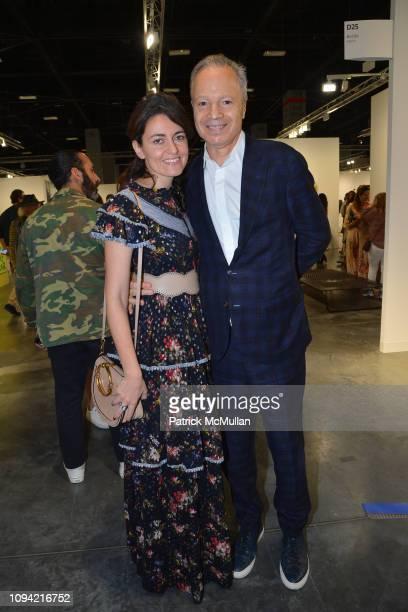 Clara Naman and Alf Naman attend Art Basel Miami Beach 2018 PRIVATE DAY at Miami Convention Center on December 5 2018 in Miami FL
