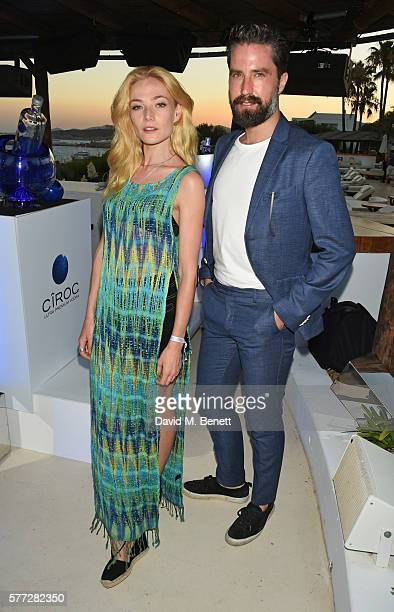 Clara Paget and Jack Guinness attend the CIROC On Arrival party in Ibiza hotspot Destino as model and DJ Amber Le Bon celebrated her arrival moment...