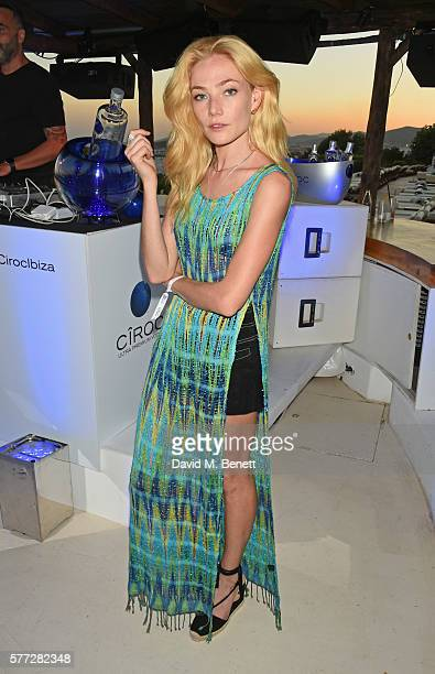 Clara Paget attends the CIROC On Arrival party in Ibiza hotspot Destino as model and DJ Amber Le Bon celebrated her arrival moment as she took to the...