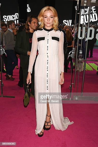 Clara Paget attends the European Premiere of Suicide Squad at Odeon Leicester Square on August 3 2016 in London England
