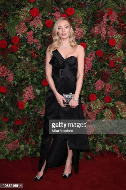 Clara Paget attends the Evening Standard Theatre Awards 2018 at Theatre Royal on November 18 2018 in London England