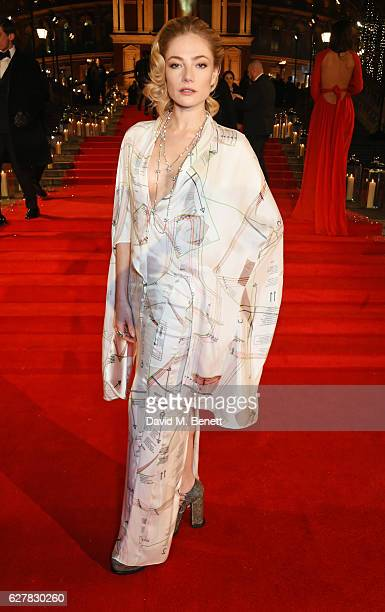 Clara Paget attends The Fashion Awards 2016 at Royal Albert Hall on December 5 2016 in London United Kingdom