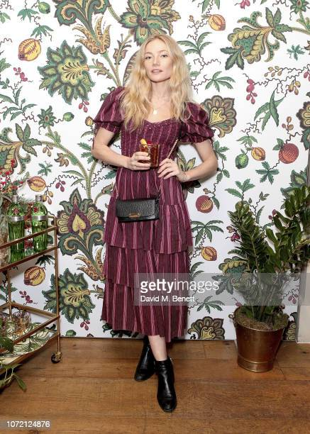Clara Paget attends the launch of Tanqueray No TEN and House of Hackney's exclusive partnership at Petersham Nurseries on December 12 2018 in London...