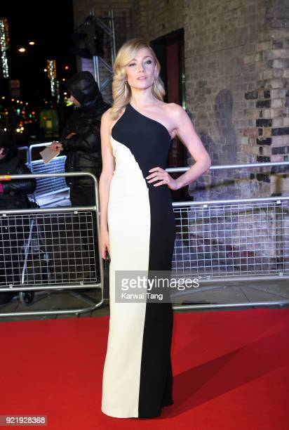 Clara Paget attends the Naked Heart Foundation's Fabulous Fund Fair during London Fashion Week February 2018 at the Roundhouse on February 20 2018 in...