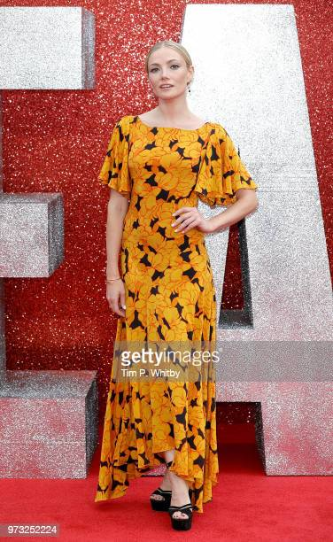 Clara Paget attends the 'Ocean's 8' UK Premiere held at Cineworld Leicester Square on June 13 2018 in London England
