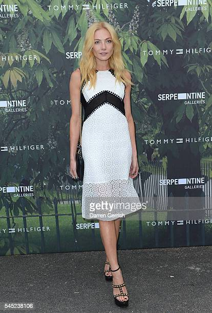 Clara Paget attends the Serpentine Summer Party cohosted by Tommy Hilfiger at the Serpentine Gallery on July 6 2016 in London England