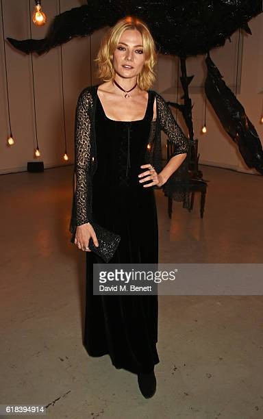 Clara Paget attends The Veuve Clicquot Widow Series 'ROOMS' Curated by FKA twigs on October 26 2016 in London England
