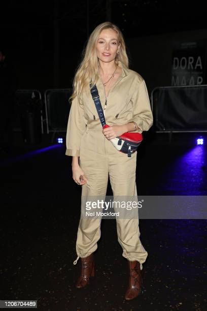 Clara Paget attends Tommy Hilfiger at Tate Modern during LFW February 2020 on February 16 2020 in London England