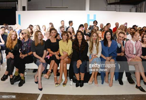 Clara Paget, Laura Bailey, Laura Carmichael, Pixie Geldof, Alexa Chung, Jessie Ware, Harley Viera Newton, Daisy Lowe, Jamie Campbell Bower and Sophie...