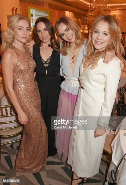 Clara Paget Melanie C Suki Waterhouse and Poppy Jamie attend the Lady Garden Gala in aid of Silent No More Gynaecological Cancer Fund and Cancer...