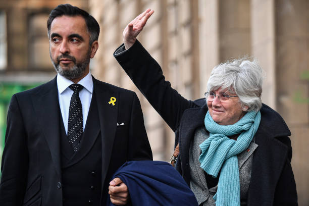 GBR: Former Catalan Government Minister Appears For Extradition Proceedings