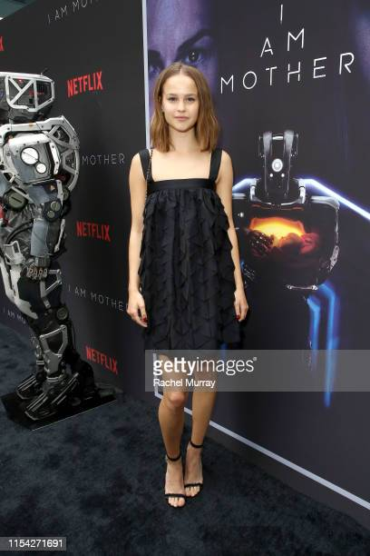 Clara Rugaard attends a special screening of Netflix's I AM MOTHER at Arclight Hollywood on June 06 2019 in Los Angeles California
