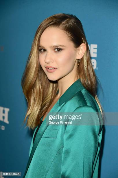 Clara Rugaard attends the I Am Mother Premiere during the 2019 Sundance Film Festival at Eccles Center Theatre on January 25 2019 in Park City Utah