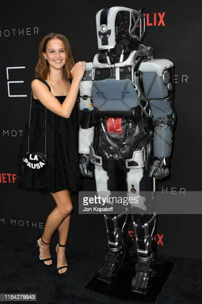 Clara Rugaard attends the LA Special Screening Of Netflix's I Am Mother at ArcLight Hollywood on June 06 2019 in Hollywood California