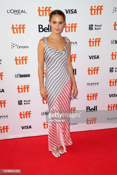 Clara Rugaard attends the Teen Spirit premiere during 2018 Toronto International Film Festival at Ryerson Theatre on September 7 2018 in Toronto...