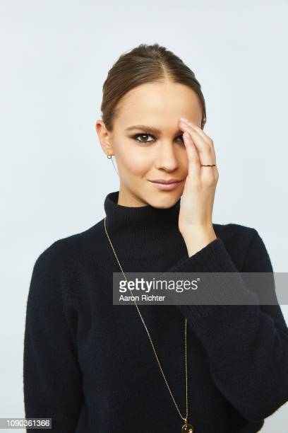 Clara Rugaard from 'I Am Mother' poses for a portrait in the Pizza Hut Lounge in Park City Utah on January 26 2019 in Park City Utah