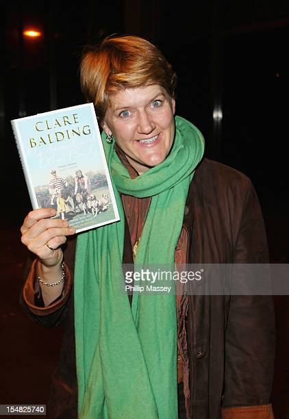 Clare Balding appears on the Late Late Show on October 26 2012 in Dublin Ireland
